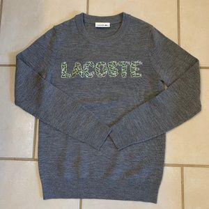 Lacoste logo sweater- size 36
